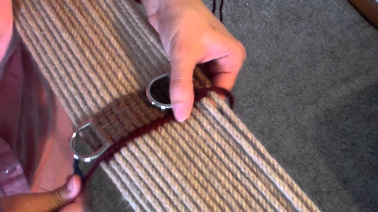 How to Make a Mohair Cinch  (center diamond part 1)