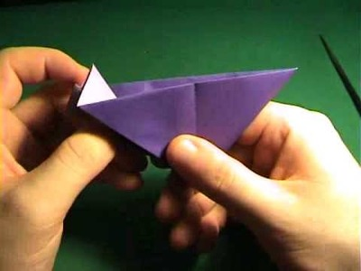 How to make an Origami Calla Flower