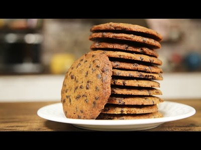 How To Make Chocolate Chip Biscuit   Easy Biscuit Recipe   Nick Saraf's Foodlog