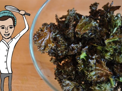 How To Make Easy KALE CHIPS!! (Garlic & Spicy) | The Vegetarian Baker