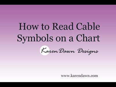 How to Read Cable Symbols on a Chart
