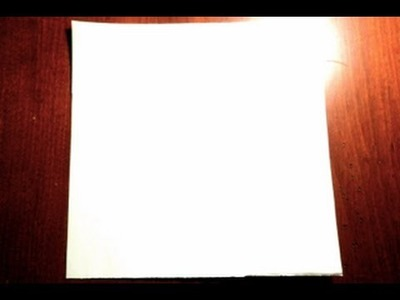 How To Turn Rectangular Paper Into a Square Sheet of Paper