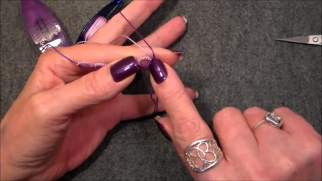 Lesson 13 Split Ring Tatting