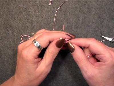 Lesson 4 Needle tatted True ring on the ball and how to move on from the true ring