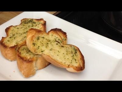 Pan De Ajo Para Pastas.Garlic Bread for pastas