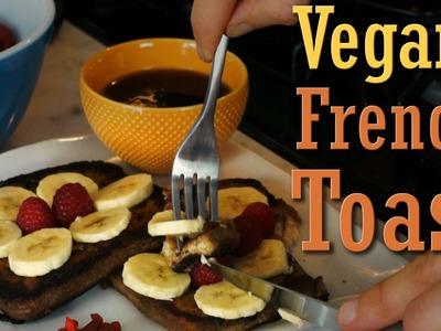 Quick Easy Recipe: Vegan French Toast