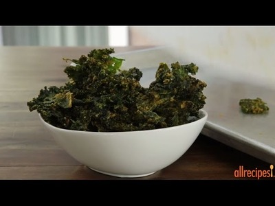 Snack Recipes - How to Make Cheesy Kale Chips