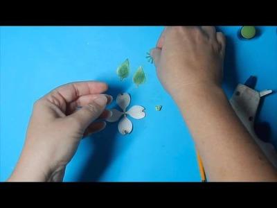 Spellbinders Create-A-Dogwood Flower Tutorial