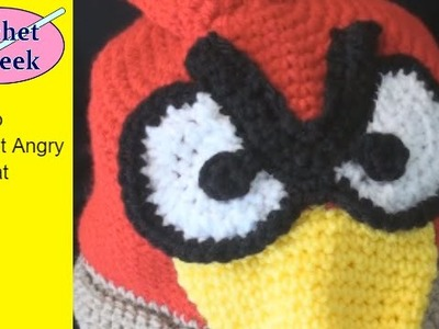 Angry Bird How to Crochet Hat