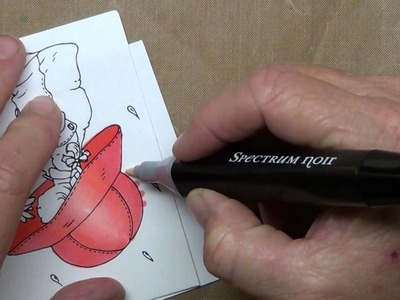 Correcting mistakes with the Spectrum Noir Blender Pen