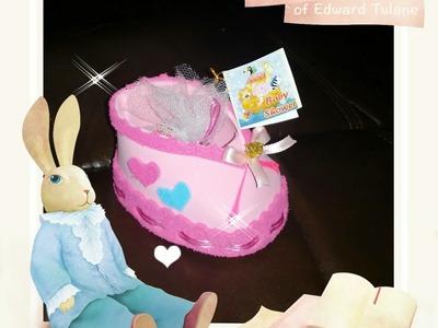 DIY Como Hacer  Recuerdo de baby shower Zapatito