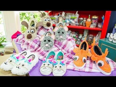 DIY - DIY Animal Shoes - Home & Family