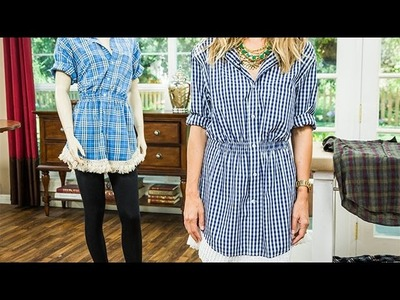 DIY - Orly Shani's DIY Shirt Dress - Home & Family