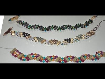 Easy Weaved Zig Zag Bracelet