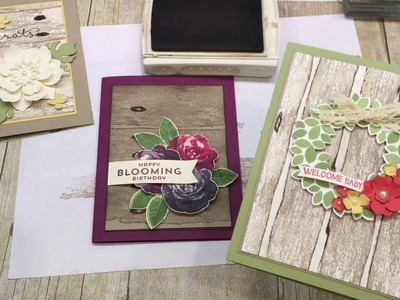 Friday Quickie: How to make a Faux Weathered Wood Background