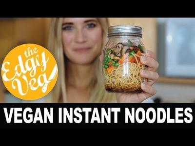 Homemade Mr Noodles Instant Noodles | Edgy Veg