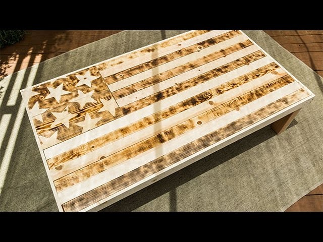 How To - American Flag Table - Home & Family