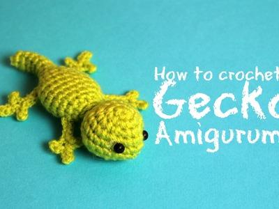 How to crochet a Gecko Amigurumi | World Of Amigurumi