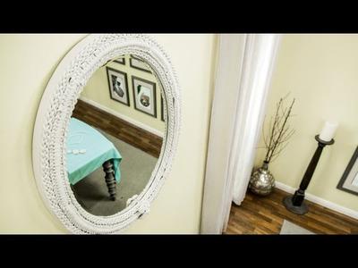How To - DIY Macrame Mirror - Home & Family