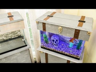 How To - DIY Pirate Chest Aquarium - Home & Family