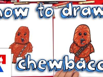 How To Draw A Cartoon Chewbacca