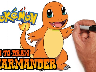 How to Draw Charmander- Pokemon- Video Lesson