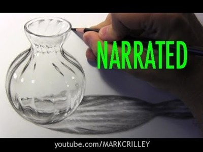 How to Draw Glass [Narrated Step-by-Step]