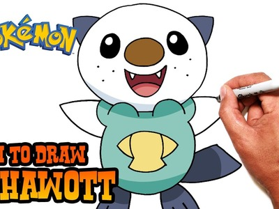 How to Draw Oshawott (Pokemon)- Step by Step