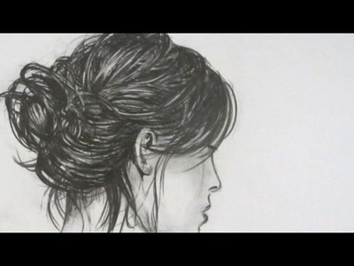How to Draw Realistic Hair: Narrated Step by Step
