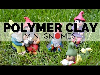 How to Make Polymer Clay Gnomes