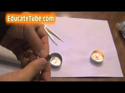 How to make Tealight Candle powered by Vegetable Oil Save Money by reusing items