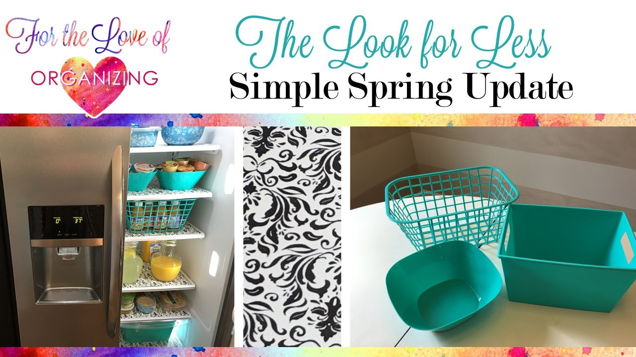 How to Organize Your Refrigerator | The Look for Less Collab