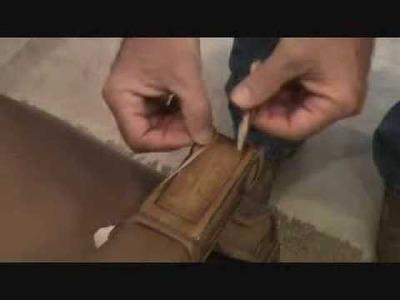 How to repair a broken arm chair