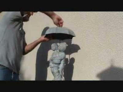 How to repair a water feature