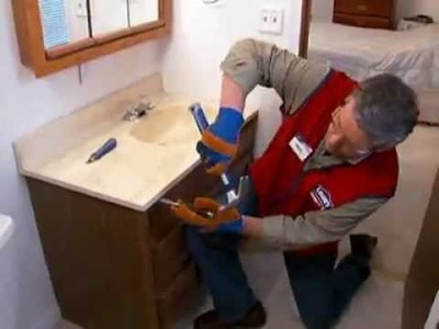 How To: Replacing a Vanity and Sink