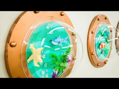 How To - Tanya Memme's DIY Submarine Window Wall Art - Home & Family