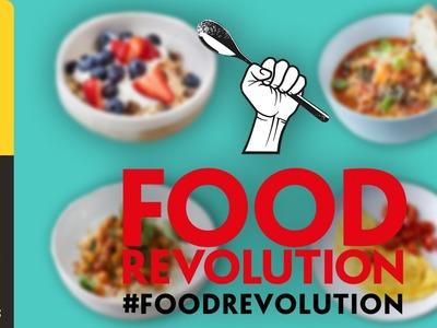 Jamie Oliver's 10 Food Revolution Recipes | #foodrevolution