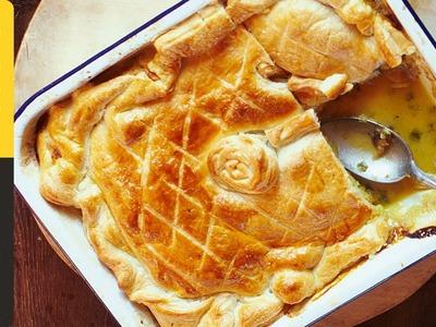 Jamie's Quick Chicken & Mushroom Pie