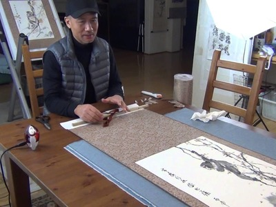 Lesson 49 How to Make a Chinese Silk Scroll (Part 3-3)