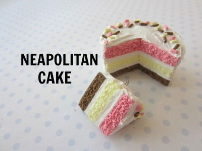 Neapolitan Cake Tutorial