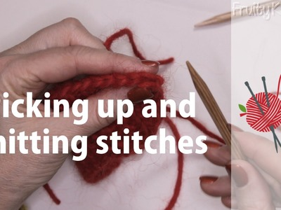 Picking Up and Knitting Stitches