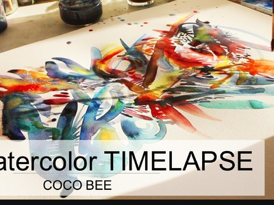 RELAXING TIMELAPSE (Sunday Morning Painting Meditation)