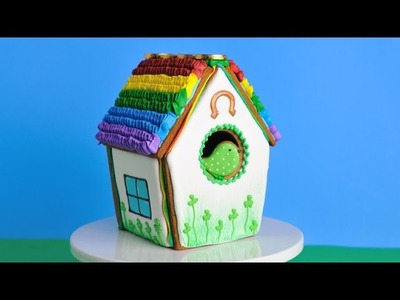 SAINT PATRICK'S DAY BIRD HOUSE COOKIE, HANIELA'S