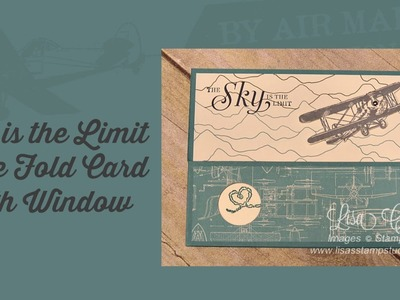 Sky is the Limit Gate Fold Card with Window