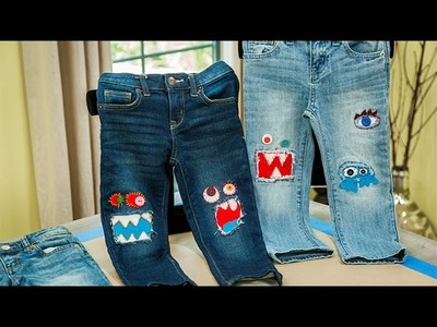 Tanya Memme's DIY Monster Knee Patches - Home & Family