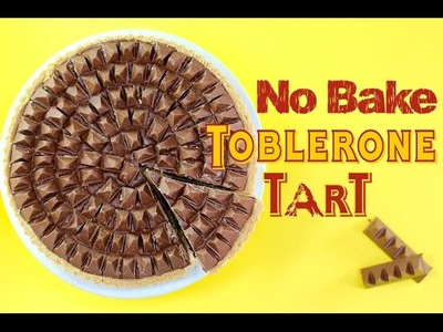 TOBLERONE Chocolate Pie Recipe | No Bake Dessert | My Cupcake Addiction