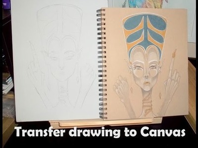 Transfer drawing to Canvas EASY
