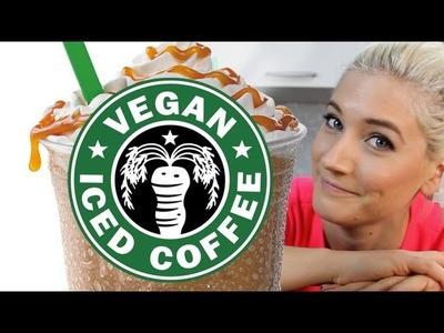 Vegan Frappuccino Starbucks Recipe | The Edgy Veg