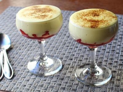 Zabaglione - Italian Warm Custard & Fruit Dessert - Valentine's Day Special!