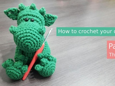 Amigurumi | Spikey the Dragon Part 1.3